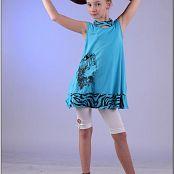 TeenModeling Alice Blue Dress 029