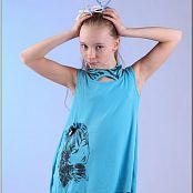 TeenModeling Alice Blue Dress 088