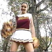 Christina Model Sexy Cheerleader Outfit 2 Video