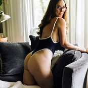 Meg Turney Black One Piece 006
