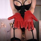Princess Ellie Idol Leather Gloves Turn You On HD Video