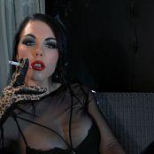 Goddess Kim Smoking Goddess Worship HD Video