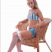 TeenModeling Alice Blue Striped Top 078
