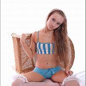 TeenModeling Alice Blue Striped Top 099