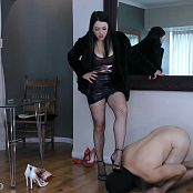 Goddess Kim Permanent Shoe Slave Video 100819 mp4