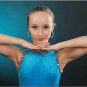 TeenModeling Alice Blue Fringe Leotard 104