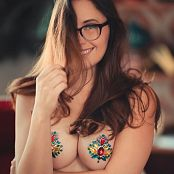 Meg Turney Jewel Titty Pasties Picture Set
