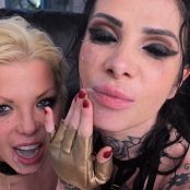 Barbie Sins & Megan Inky Double Anal Squirt 4K UHD & HD Video