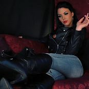 Young Goddess Kim Leather Jerk Off bitch Video 240919 mp4