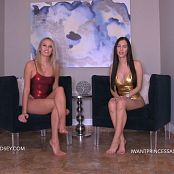 Princess Ashley & Goddess Lindsey Coerced Into Intox Fantasy HD Video