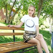 Fashion Land Mika Gold Skirt HD Video