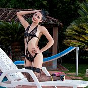 Clarina Ospina Black Lingerie TCG Set 011 tcg clarina 011 15