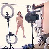 Katie Banks Pink Picture Set & BTS HD Video