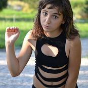 Silver Starlets Ariana Black Dress 002 Picture Set