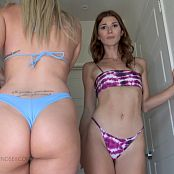 Eva De Vil & Goddess Lindsey Bratty Booty JOI HD Video