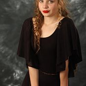 Silver Stars Margaret Black Dress Set 002 052