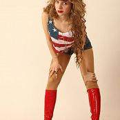 Silver Stars Margaret Red Boots Set 001 005