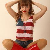 Silver Stars Margaret Red Boots Set 001 134