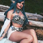 Jessica Nigri Blue Ocean Elf Picture Set
