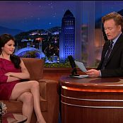 Selena Gomez 2009 10 07 The Tonight Show With Conan OBrien 1080i Video 050120 ts