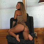 Christina Model Leopard Dress Cutie Dance Video
