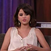 Selena Gomez 2009 08 27 Jimmy Kimmel shaq hdtv xvid 2hd Video 050120 avi