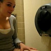 Amateur Teen School Bathroom Masturbation Video