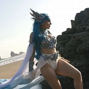 Jessica Nigri Ocean Elf HD Video
