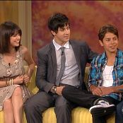 Selena Gomez 2009 08 05 The View 12x228 Selena Gomez David Henrie Jake T Austin 720p Video 050120 ts