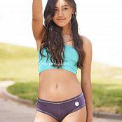 Kylin Kalani Green Beijo Top and Tight Shorts 003