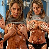 XXXCollections Wallpapers Pack Part 22 Nikki Sims Chocolate Sundae 4K UHD Wallpaper