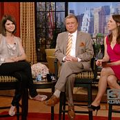 Selena Gomez 2009 06 16 interview Regis and Kelly Video 050120 mpg