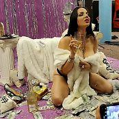 Goddess Alexandra Snow Fur Money Photoshoot HD Video