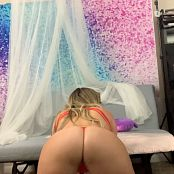 Kalee Carroll Onlyfans Red Thong Tease Video 070320 mp4