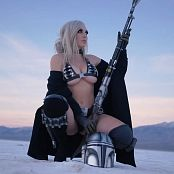 Jessica Nigri Mandalorian Bikini BTS HD Video 200320 mp4