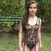 Angie Narango Sheer Black Bodysuit TCG HD Video 005 250320 mp4
