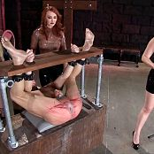 Alexandra Snow Kendra James & Lexi Sindel Spread Wide and Beaten Red HD Video