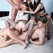 Natalie Mars vs 2 Girls 3 Guys Double Anal Gangbang BTG011 Picture Set & 4K UHD & HD Video