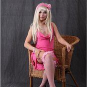 TeenModelingTV Alice Pink Dress Picture Set