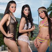 Natalia Marin Dulce Garcia and Melissa Lola Sanchez Group 18 TCG Set 018 tcg group 018 1