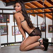 Poli Molina Black Lingerie TCG Picture Set 013
