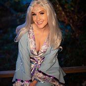 Meg Turney Blue Kitsune Kimono 008