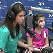 Selena Gomez Sings with Hospital Patient Live Ryan Seacrest Video