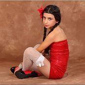 TMTV Tamta Red Shorts 006
