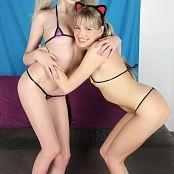Teenikini Scarlett Sage and Lexi Lore Cat Cuties Set 100 046