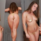XXXCollections Wallpapers Pack Part 59 Blueyedcass Gold Stickers Babe 4K UHD Wallpaper