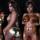 XXXCollections Wallpapers Pack Part 73 Jada Fire Shiny Gold and Oil 4K UHD Wallpaper