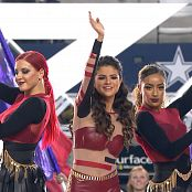Selena Gomez Live Thanksgiving Day Game 2013 HD Video