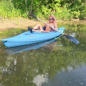 Madden Topless Kayaking Picture Set