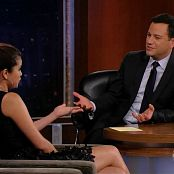 Selena Gomez 2012 09 27 Selena Gomez Jimmy Kimmel x264 720p Video 250320 mp4